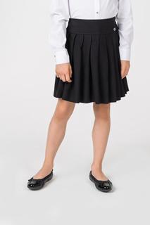 Юбка для девочки Gulliver, цв.чeрный, р-р 146