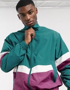 Зеленая спортивная куртка Esprit-Зеленый