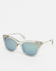 """Солнцезащитные очки """"кошачий глаз"""" Kate Spade-Очистить"""