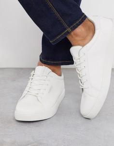 Белые кроссовки из искусственной кожи Jack & Jones-Белый