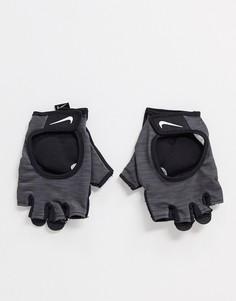 Серые перчатки Nike Training-Серый