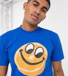 Синяя футболка с принтом Chinatown Market-Синий
