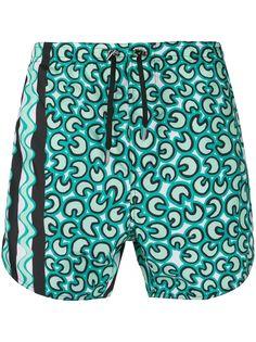 Neil Barrett плавки-шорты с принтом