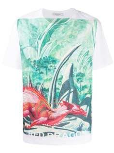 Valentino футболка Red Dragon из коллаборации с Roger Dean