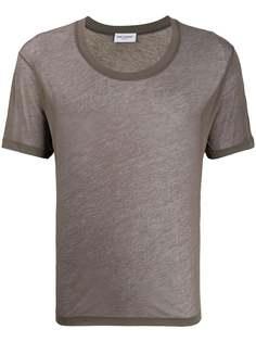 Saint Laurent футболка с короткими рукавами