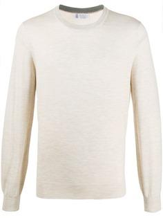Brunello Cucinelli пуловер с круглым вырезом