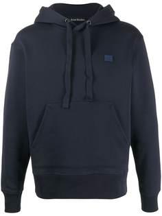 Acne Studios Ferris face-motif hoodie