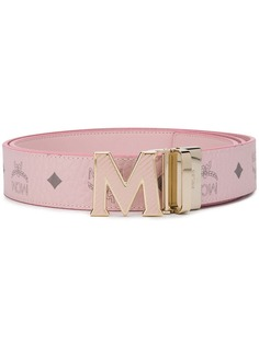 MCM logo plaque belt