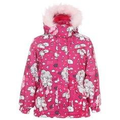 Куртка Huppa размер 80, лиловый