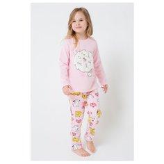 Пижама crockid размер 92, розовое облако