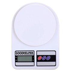 Кухонные весы Goodhelper KS-S01 белый
