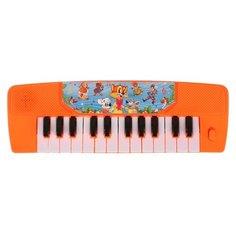 Умка пианино 1003M165-R красный