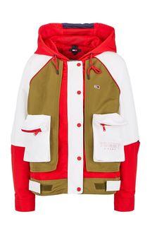 Легкая куртка оригинального кроя Tommy Jeans
