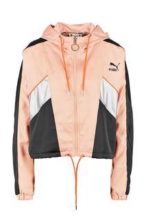 Укороченная куртка с блестящими вставками Puma