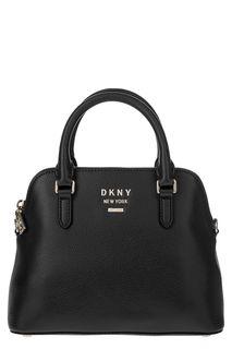 Маленькая кожаная сумка со съемным плечевым ремнем Dkny