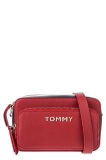 Маленькая красная сумка через плечо Tommy Hilfiger