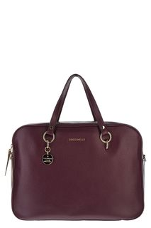 Кожаная сумка с плечевым ремнем Alpha Coccinelle