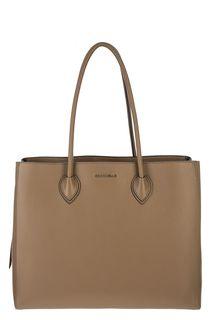 Кожаная сумка с боковыми отделениями Farisa Coccinelle