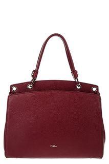 Кожаная сумка со съемным плечевым ремнем Adele Furla