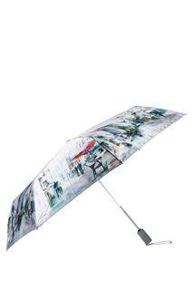 Автоматический зонт с сатиновым куполом Eleganzza