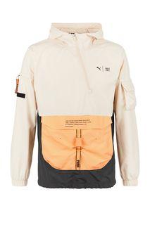 Ветровка-анорак со съемным карманом Puma