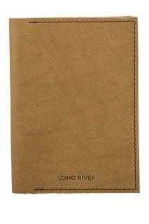 Обложка для паспорта из натуральной кожи Long River