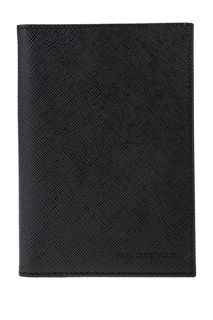 Обложка для паспорта из сафьяновой кожи Karl Lagerfeld