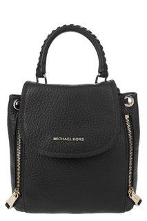 Маленький кожаный рюкзак со съемными лямками Viv Michael Michael Kors