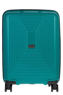 Пластиковый чемодан на колесах Fabretti
