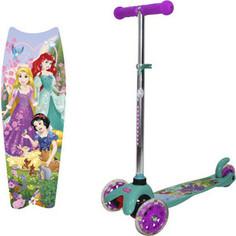Самокат со светящимися колесами Disney Принцессы Т11413Н