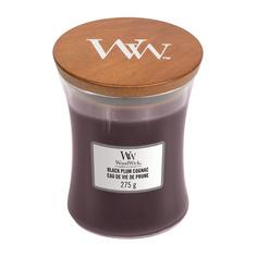Свеча ароматическая в средней банке Woodwick Сливовый коньяк 275 г