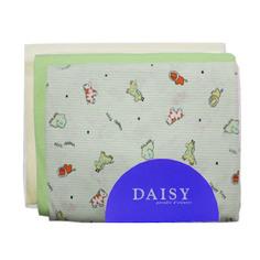 Пеленка Daisy трикотажная 95*120 бежевая 3 шт
