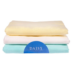 Пеленка Daisy фланель 90*120 бежевая 3 шт