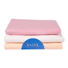 Пеленка Daisy фланель 90*120 розовая 3 шт
