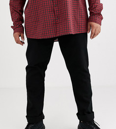 Черные джинсы Burton Menswear Big & Tall-Черный