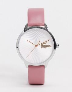 Розовые аналоговые кварцевые часы Lacoste-Розовый