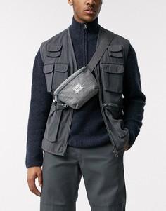 Серая сумка-кошелек на пояс Herschel Supply Co Fourteen-Серый