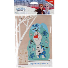 "Роспись по дереву Lori, игрушка-сувенир ""Disney. Холодное сердце-2 ""Олаф"""