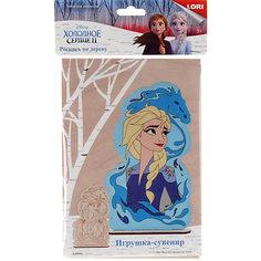 """Роспись по дереву Lori, игрушка-сувенир """"Disney. Холодное сердце-2 """"Прекрасная Эльза"""""""