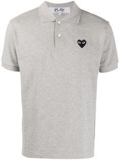 Comme Des Garçons Play рубашка-поло с логотипом