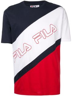 Fila футболка с вышитым логотипом