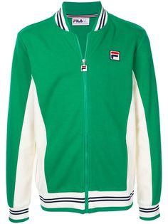 Fila спортивная куртка с вышитым логотипом
