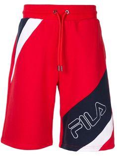 Fila спортивные шорты с логотипом