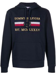Tommy Hilfiger худи с вышитым логотипом