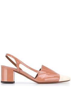 LAutre Chose туфли с контрастным носком и ремешком на пятке
