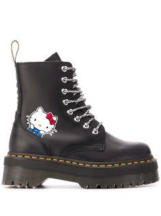 Dr. Martens ботинки Hello Kitty на платформе