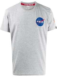 Alpha Industries футболка Space Shuttle с круглым вырезом