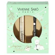 Vivienne Sabo Набор: Тушь для ресниц Cabaret premiere тон 01, карандаш для глаз Merci тон 301