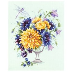 Чудесная Игла Набор для вышивания Летний букетик 20 x 23 см (100-004)
