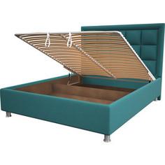 Кровать OrthoSleep Альба menthol механизм и ящик 140x200